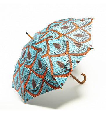 African Waxprint Umbrella - The Afro Chic Boutique