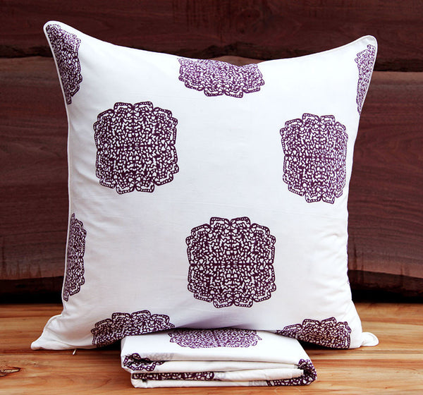 Tiger Butterfly<br>Colour Prune<br>Pillow Sham
