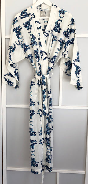Lava <br> Colour Sky-Indigo<br> Robe