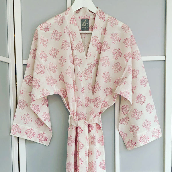 Suzani Flower <br> Colour Roseate<br> Robe