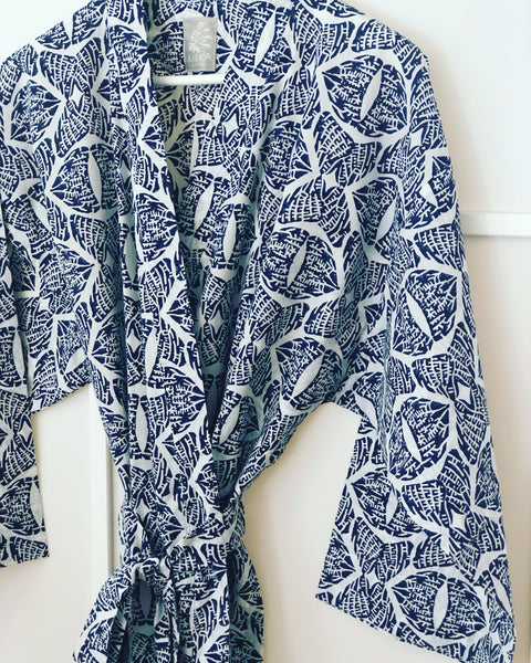 Tahlequah<br> Colour Indigo<br> Robe