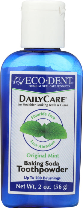 ECO-DENT: Daily Care Toothpowder Mint, 2 oz