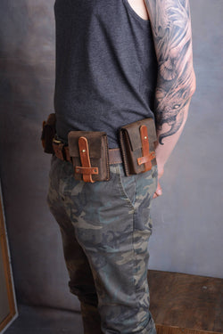 Steampunk Belt And Pouches