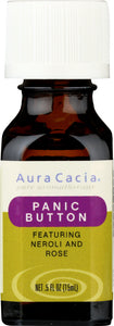 AURA CACIA: Essential Solutions Panic Button 0.5 oz - Go Steampunk
