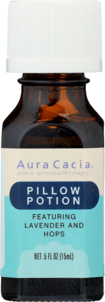 AURA CACIA: Essential Solutions Pillow Potion 0.5 oz - Go Steampunk