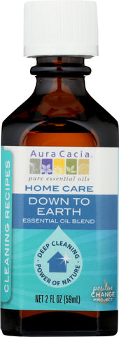AURA CACIA: Essential Oil Home Care Down To Earth 2 oz - Go Steampunk