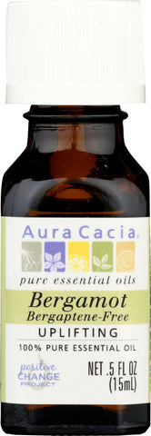 AURA CACIA: 100% Pure Essential Oil Bergamot, 0.5 Oz - Go Steampunk