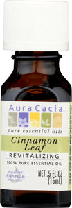 AURA CACIA: 100% Pure Essential Oil Cinnamon Leaf, 0.5 Oz - Go Steampunk