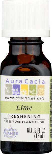 AURA CACIA: Essential Oil Lime 0.5 oz - Go Steampunk