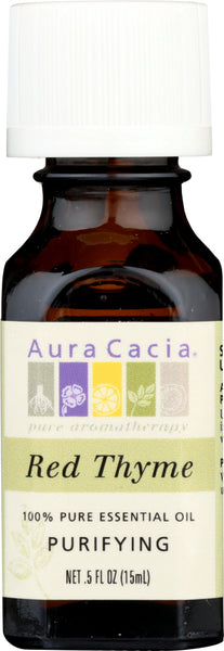 AURA CACIA: 100% Pure Essential Oil Red Thyme, 0.5 Oz - Go Steampunk