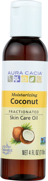 AURA CACIA: Oil Coconut Fractionated, 4 fo - Go Steampunk