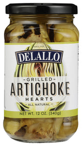 DELALLO: Artichoke Halves Grilled, 12 oz