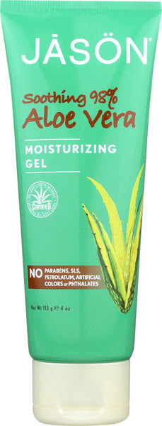JASON: Moisturizing Gel Soothing 98% Aloe Vera, 4 oz