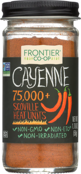 FRONTIER NATURAL PRODUCTS: Cayenne Ground, 1.76 oz