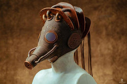 Atomic Steampunk Fireman Gas Mask