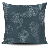 The Jellyfish Pillow Blue - Go Steampunk