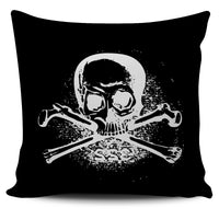 Pirate Skulls Pillow Cover - Go Steampunk