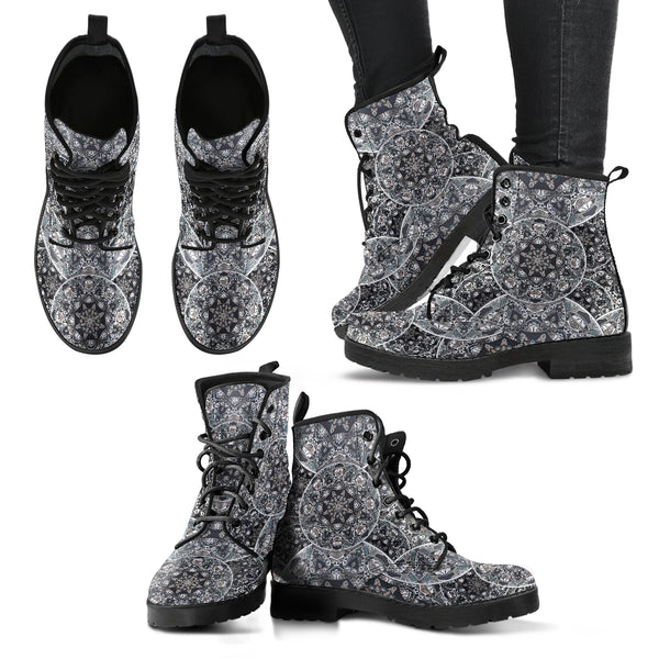 Bohemian Style Handcrafted Boots - Go Steampunk