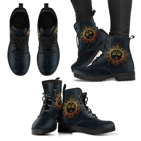 Sun Alchemy Handcrafted Boots - Go Steampunk