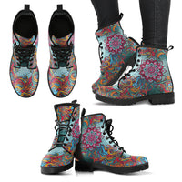 Mandala Handcrafted Boots - Go Steampunk