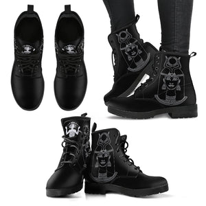 Ancient Egyption - Vegan Women's Leather Boots - Go Steampunk