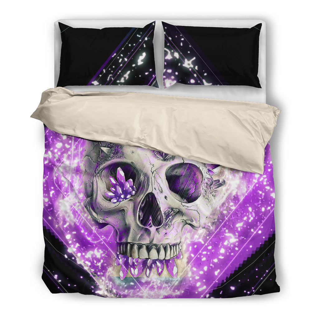 Purple Skull Bedding SetPurple Skull / US Twin - Go Steampunk