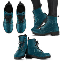 Grunge P12 - Leather Boots for Women - Go Steampunk