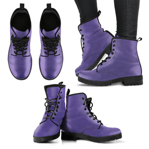 Ultra Violet - Leather Boots for Women - Go Steampunk