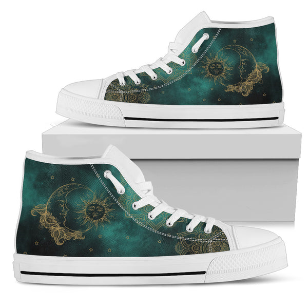 Sun and moon high top - Go Steampunk