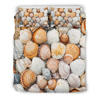 Sea Shells Bedding Set Bedding SetSea Shells Bedding Set / US Twin - Go Steampunk
