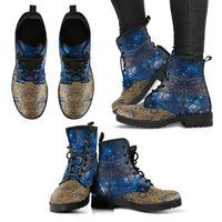 Dragonfly 2 Handcrafted Boots - Go Steampunk