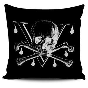 Pirate Skulls Pillow Cover5 - Go Steampunk