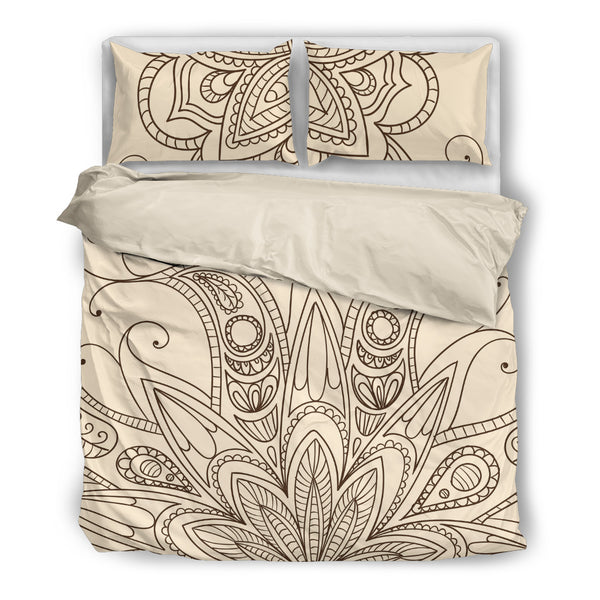 Henna Bedding Set Bedding SetHenna Bedding Set / US Twin - Go Steampunk