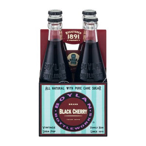 BOYLAN: Black Cherry Soda 4 Pack, 46.4