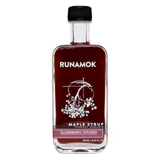 RUNAMOK MAPLE ELDERBERRY INFUSED ORGANIC MAPLE SYRUP - Go Steampunk