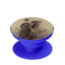 Load image into Gallery viewer, Victorian Lady Photographer Phone Stand - Go Steampunk