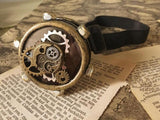 Steampunk Gear Eye Patch/Monocle