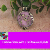 Aromatherapy Diffuser Locket With Pads 9 - Go Steampunk