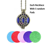 Aromatherapy Diffuser Locket With Pads 3 - Go Steampunk