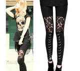 Lace Gothic Leggings