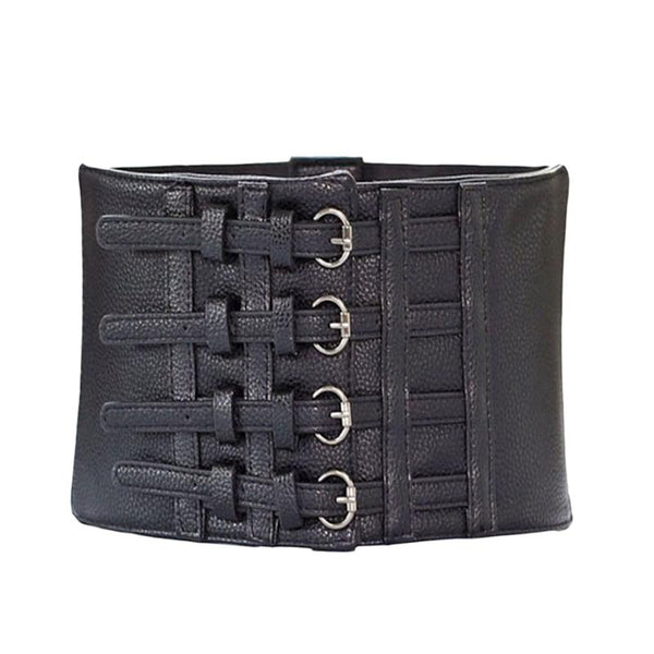 Extra High Waist Four Buckle Waist Cincher
