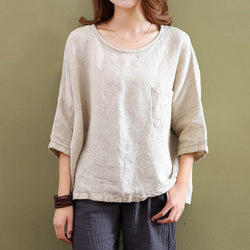 Casual Cotton Linen Shirt