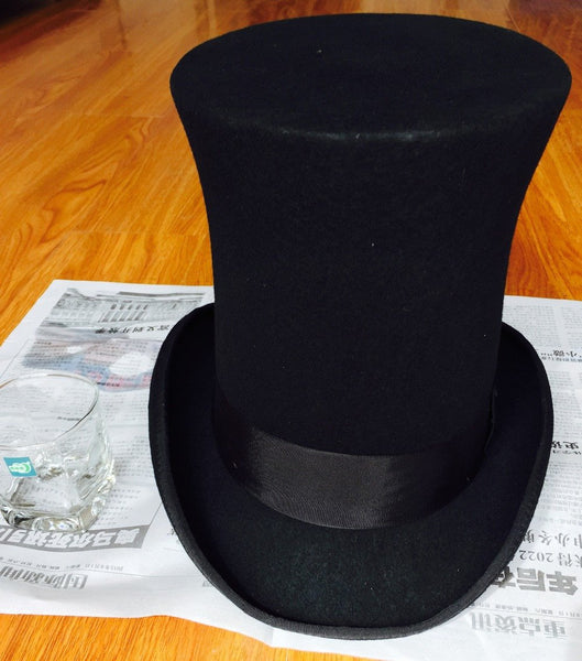 The Tallest Top Hat 25cm (9.8 inch) - Go Steampunk