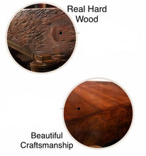 Load image into Gallery viewer, Retro Industrial Steampunk Wood and Wrought Iron Table - Go Steampunk