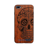 Original Bamboo Wood Phone Case For Iphone 7 7Plus 5 5S SE 6 6S Plus Gold / for iPhone 5 5S SE - Go Steampunk