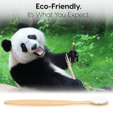 Natural Bamboo Handle Toothbrush - Go Steampunk