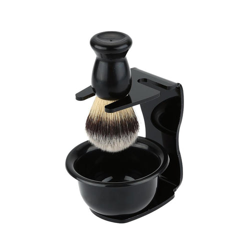 3 In 1 Shaving Tool Set, Soap Bowl +Shaving Brush+ Shaving Stand