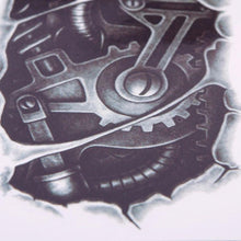 Load image into Gallery viewer, 3D Mechanical Arm Temporary Tattoo - Go Steampunk