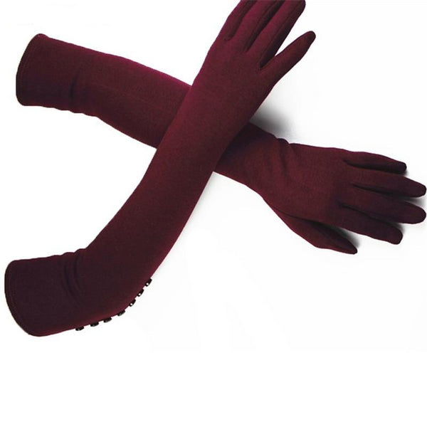 Elastic Knitted Cotton Gloves