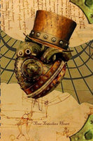 Time Travelers Heart Journal - Go Steampunk